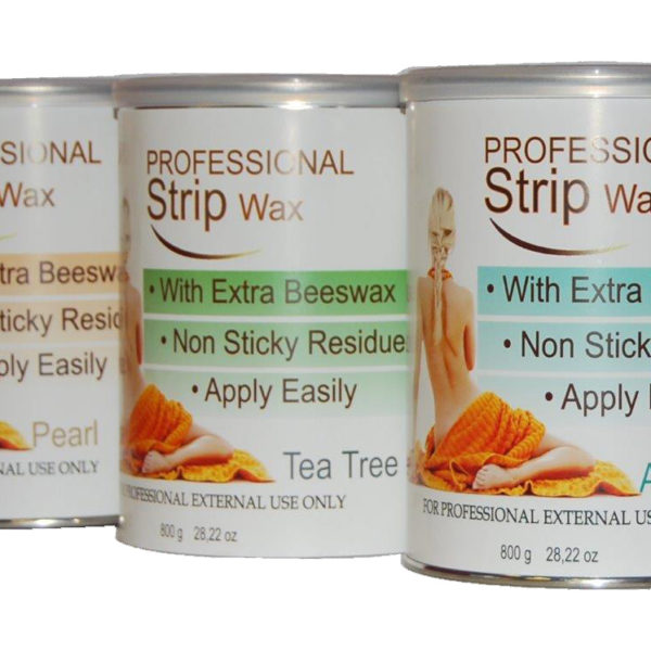 STRIP WAX PEARL 800G TIN