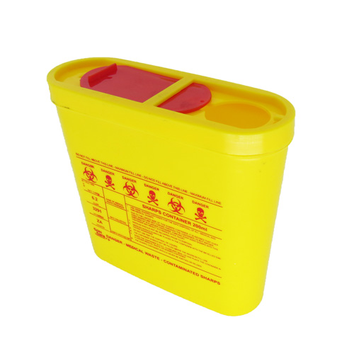 SHARPS CONTAINER 0 2L